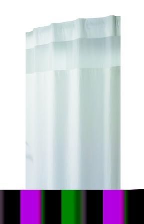 The Hookless Shower Curtain Mini Waffle White
