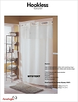 The Hookless® Shower Curtain - MYSTERY CURTAIN