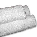 White Bath Towels - Imported Economy Grade 20 x 40