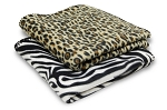 Fleece Throw - 24 PER CASE- Animal Print