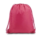 Nylon Drawstring Backpack - Large