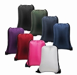 Nylon Drawstring Backpack - Value Priced
