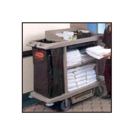 Rubbermaid X Tra Housekeeping Cart