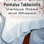 Permalux Tablecloths - Colors - 120