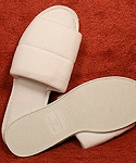 Open Toe Terry Slipper (Women's - Large)