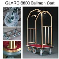 Deluxe 6 Wheel Bellman Cart