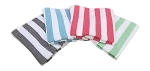 Fibertone Striped Beach Towel made in USA