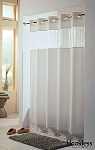 The Hookless® Shower Curtain - View From the Top Fabric - 1 DOZEN
