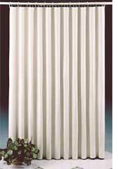 7 Gauge Polished Clear Vinyl Shower Curtain