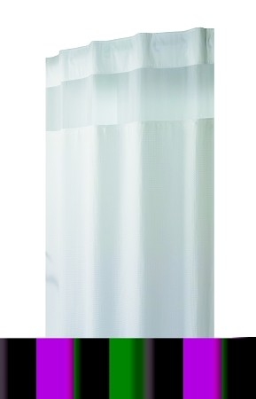 The Hookless Shower Curtain