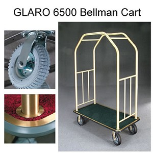 Deluxe 4 Wheel Bellman Cart