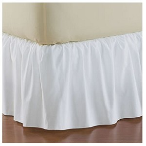 Dust Ruffles - White - 1 EACH