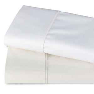 Percale T-180 - 1st Quality FULL FLAT White Sheets