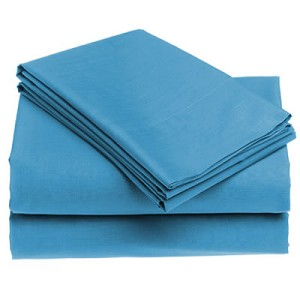 Percale T-180 - 1st Quality QUEEN FLAT Sheets  IN COLORS