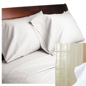 Percale T-250 - 1st Quality Sheets Twin Flat Sheets