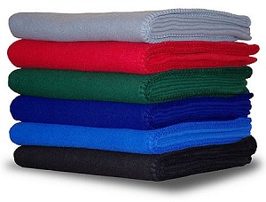 Promotional Fleece Throw - 36 PER CASE