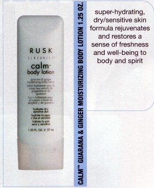 Rusk Body Gel - 1 oz bottle