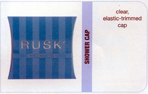 Rusk Shower Cap