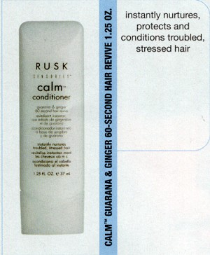 Rusk Conditioner- 1 1/4 oz bottle