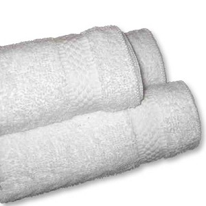 White Bath Towels - Imported Economy - Better Grade 20 x 40