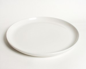 Pizza Plate white